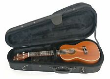 CONCERT UKULELE IN SATIN FINISH  WITH HARD FOAM FITTED CASE By Clearwater
