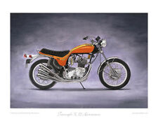 Motorcycle Limited Edition Print - Triumph Hurricane