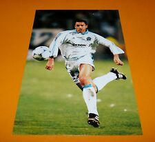 BLONDEAU OLYMPIQUE MARSEILLE OM  PHOTO UNFP FOOT 2000 FOOTBALL 1999-2000 PANINI