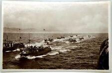 Cartolina Fotografica Marina - Flottiglia Di M.A.S. In Doppia Linea Di Fila