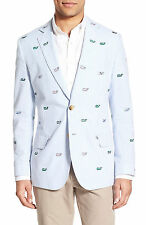 VINEYARD VINES WHALE EMBROIDERED SEERSUCKER KENTUCKY DERBY SPORTCOAT 42R NWT 695