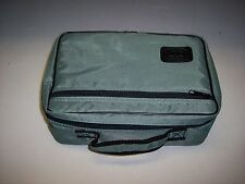 GREY VINYL STORAGE CASE FOR CASSETTE TAPES  HOLDS 16 TAPES   #2