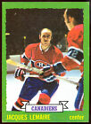 1973-74 TOPPS #56 JACQUES LEMAIRE NM MONTREAL CANADIENS HOCKEY FREE SHIP TO USA