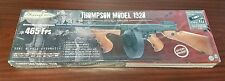 Thompson Typewriter 1928 Full Metal Airsoft AEG. includes battery and charger