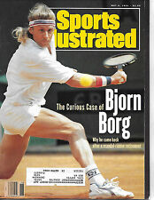 SPORTS ILLUSTRATED-BJORN BORG FROM MAY 6, 1991