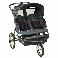 NEW! Baby Trend Expedition Double Jogger with Convenient Parent Tray (Elixer )