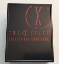 X-Files CCG Collectors Deck Box Very Rare - Never Released