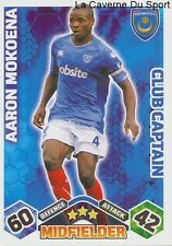 AARON MOKOENA CAPTAIN # SOUTH AFRICA PORTSMOUTH.FC CARD PREMIER LEAGUE 2010TOPPS