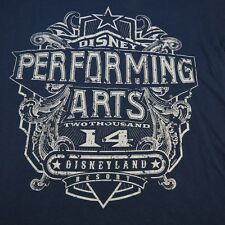 DISNEY DISNEYLAND RESORT PERFORMING ARTS YAMAHA MUSICAL INSTRUMENTS T SHIRT Sz L