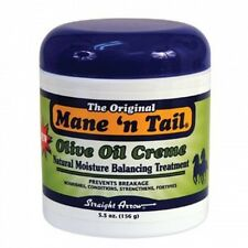 The Original Mane 'n Tail Olive Oil Creme Natural Moisture Balancing Treatment