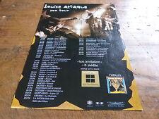 LOUISE ATTAQUE - Publicité de magazine / Advert TON INVITATION TOUR !!!!!!!!!!!