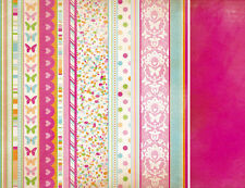 Kaisercraft 12x12 Scrapbooking paper, Bubblegum Hills Collection CANDY CONFETTI
