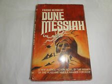 Dune Messiah by Frank Herbert 1969 Hardcover with Dust Jacket Book Club Edition
