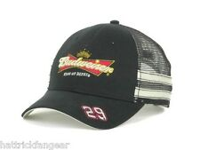 THE GAME NASCAR STRIPED TRUCKER HAT/CAP- # 29 KEVIN HARVICK - BUDWEISER RACING