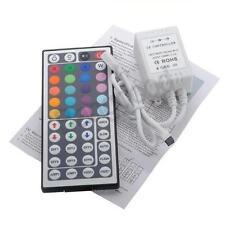 44 KEY RGB STRIP STRISCIA IR CONTROLLER TELECOMANDO PER STRISCIA RGB LED DC 12V