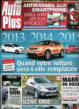 AUTO PLUS N°1285 22 AVRIL 2013  RESTYLAGE ET NOUVEAUX MODELES/ SCENIC XMOD