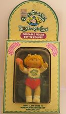 Vintage Cabbage Patch Kid CPK poseable figure 1984 2nd Edition Kim Karlene