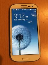 Samsung Galaxy S3 (SIII) - SPH-L710 -WHITE- SPRINT / TING - EXCELLENT Condition