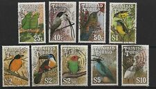 Trinidad & Tobago 1990 Birds SG789-845 fine used part set stamps to $10 cat £12