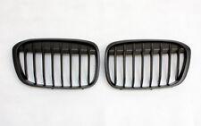 Griglia anteriore Grill Set per BMW f48 x1 dal 2015 SUV NERO OPACO BLACK MATTE NUOVO