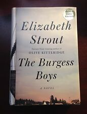 The Burgess Boys by Elizabeth Strout First Edition First Printing SIGNED!!!!
