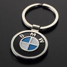 Key Chain Metal, Both sides, Keychain Key Ring BMW Logo Free Shipping