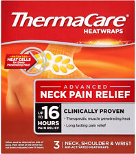 Thermacare Neck, Shoulder & Wrist Therapeutic Heat Wraps (3)