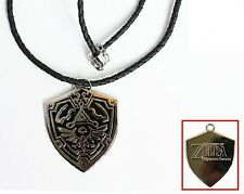 Legend of Zelda Minish Cap HYLIAN SHEILD anime cosplay Necklace