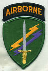 US Army Civil Affairs Psychological Operations Command W/Airborne Color Patch