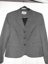 Ladies Next Lightweight Lined wool Jacket Size 14-16. Grey