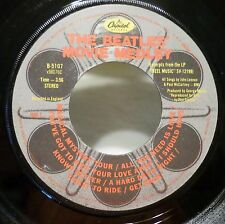 The Beatles . Movie Medley b/w Happy Just To Dance With 1982 Capitol 45 rpm VG+
