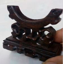 Details about Exquisite Chinese wooden Skillfully carving bracelet base Fine