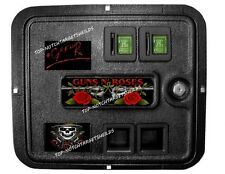 *GUNS-N-ROSES COIN DOOR Pinball Mod-3 piece set