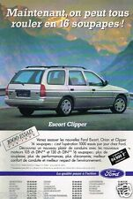 Publicité advertising 1992 Ford Escort Clipper