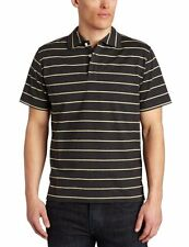 Jack Spade Townes Striped Polo Shirt Dark Heather/French Vanilla Men's S