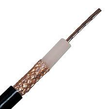 RG 213 Koaxial Kabel | Koax | 100m Ring | schwarz | 50 Ω | 100% Kupfer