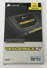 New Corsair Vengeance LP 16GB (2 X 8GB) 1600MHz DDR3 Memory Kit - Sealed