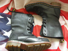 Dr Marten Black rugged Pier style boots  size 5 (Jan16)