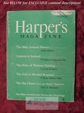 HARPERs October 1948 ALDEN HATCH JOHN D WEAVER JESSAMYN WEST RICHARD L NEUBERGER