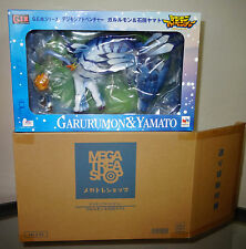NEW Digimon Adventure Tri Garurumon & Matt Yamato GEM Megahouse PVC Figure Set