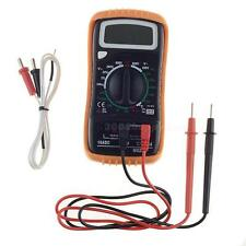 M820C Digital AC DC Multimeter/Voltmeter+Test Leads/Probe &Temperature Line HYSG