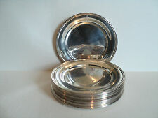 """GREAT SET/14 """"S. KIRK & SON"""" STERLING SILVER BREAD & BUTTER PLATES"""