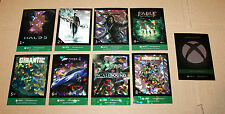 Xbox One Gamescom 2015 Complete Card Set + Completionist Card Halo Forza    FOIL