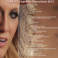 Promo Videos DVD, Only Top Euro Club/Dance Hits, Eurovision June 2013 Bonus Cuts