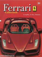 FASCICULE FABBRI N°30 REVUE COLLECTION FERRARI 575 GTC F312 B2 275 SPIDER NART
