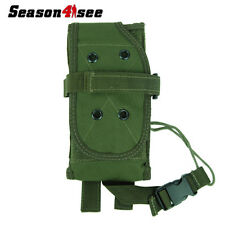 Airsoft  Belt Loop Radio/Walkie Talkie Molle Pouch Hoster Bag Tactical OD Green