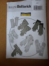 Butterick Sewing Pattern #B5370 Making History HISTORICAL GLOVES New $16.95 2009