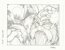 World of Warcraft Trading Card Game Art #315 - Concussion - 2006 art by Jon Boy