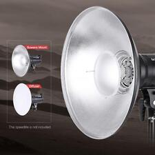 Beauty Dish Reflector Strobe Lighting Speedlite Video Light Bowens Mount DM