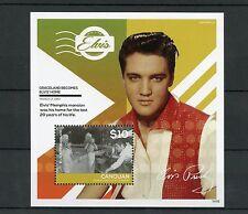 Canouan Grenadines St Vincent 2014 MNH Elvis Presley Graceland Home 1v S/S I